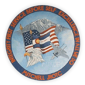 Mitchell JROTC CO-20001 Badge